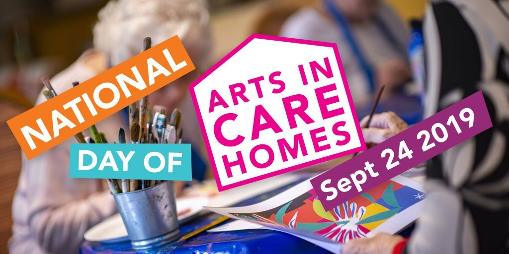 Arts in Care Homes Day at Friary Care