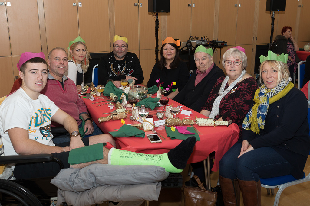 Christams party - friends and relatives