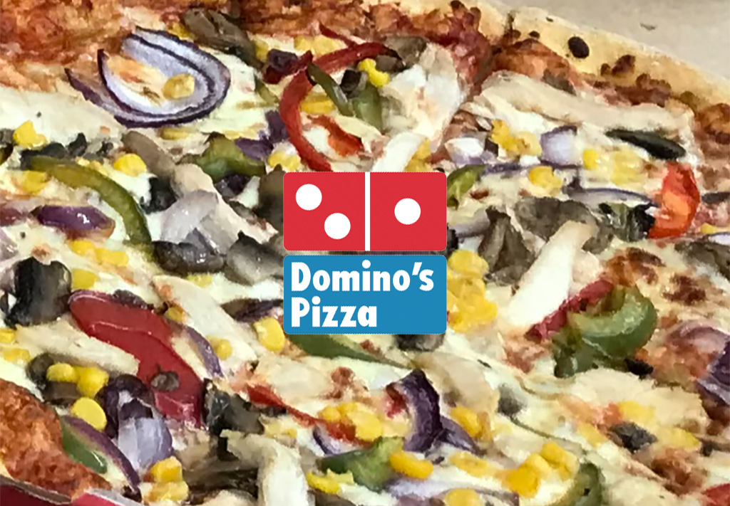 Thank you to the team at Domino Pizza