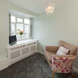 front house room with  en-suite