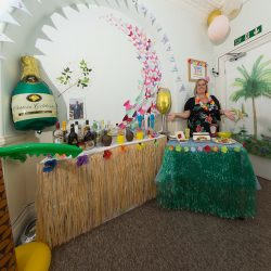 10th anniversary botanical garden party