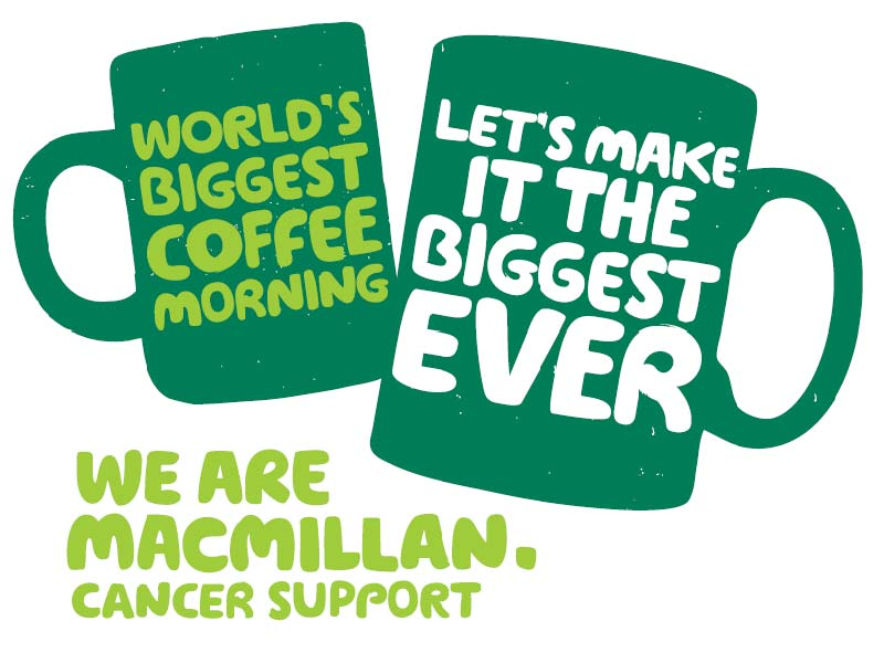Macmillan coffee and cake morning