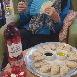 Salud - Residents enjoying the Spanish Day at Friary Care